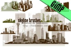 skyline-gimp-brushes-by-hawksmont
